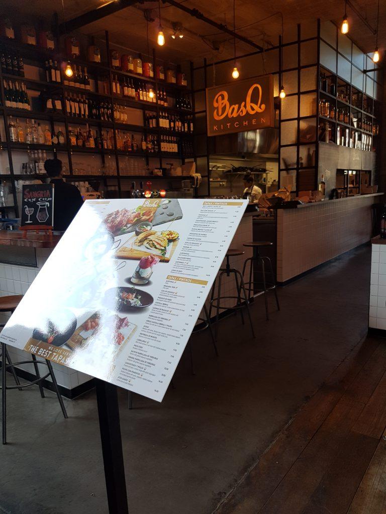 ロッテルダムのマルクトホールのバスク料理