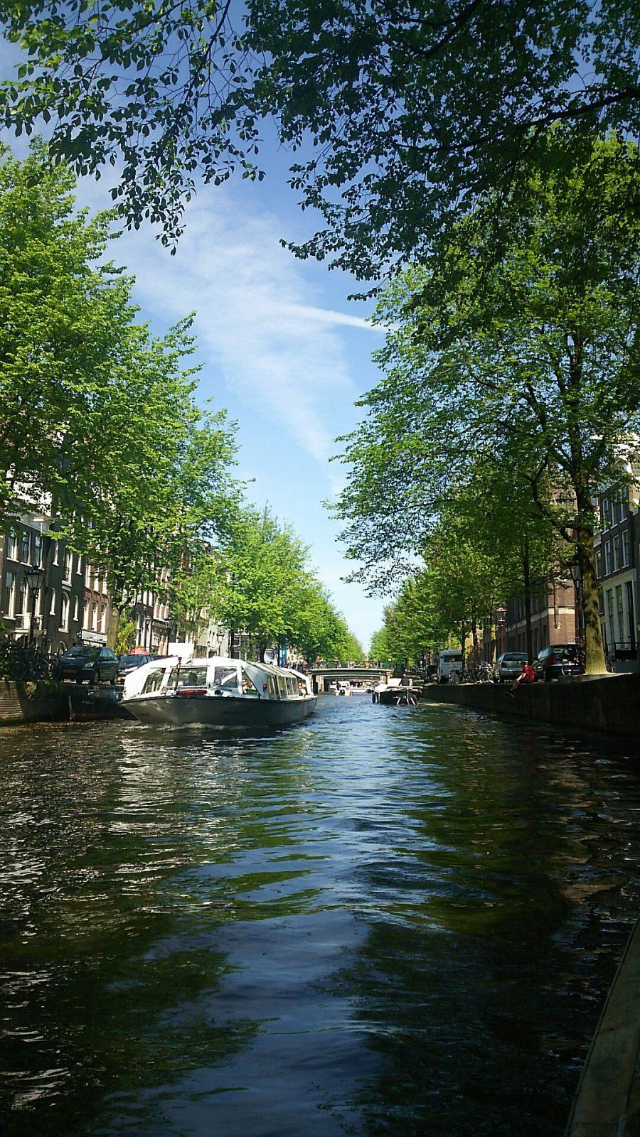 アムステルダム ボートツアー 運河ツアー カナルツアー