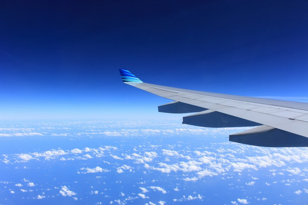 海外へ出発