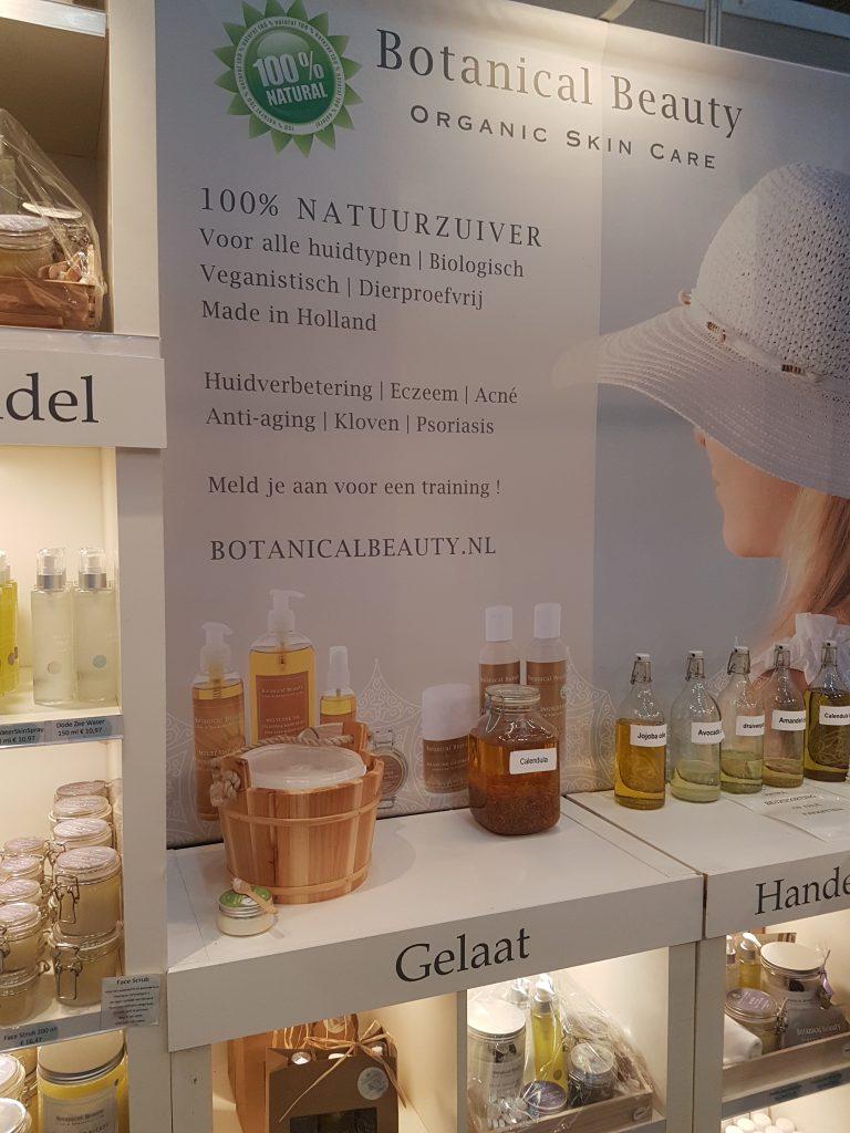 オランダの美容イベントで売っているビオコスメ