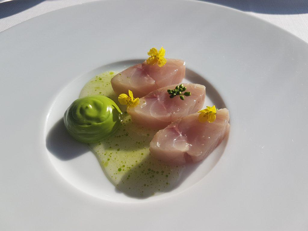 レストランボルドーのお魚
