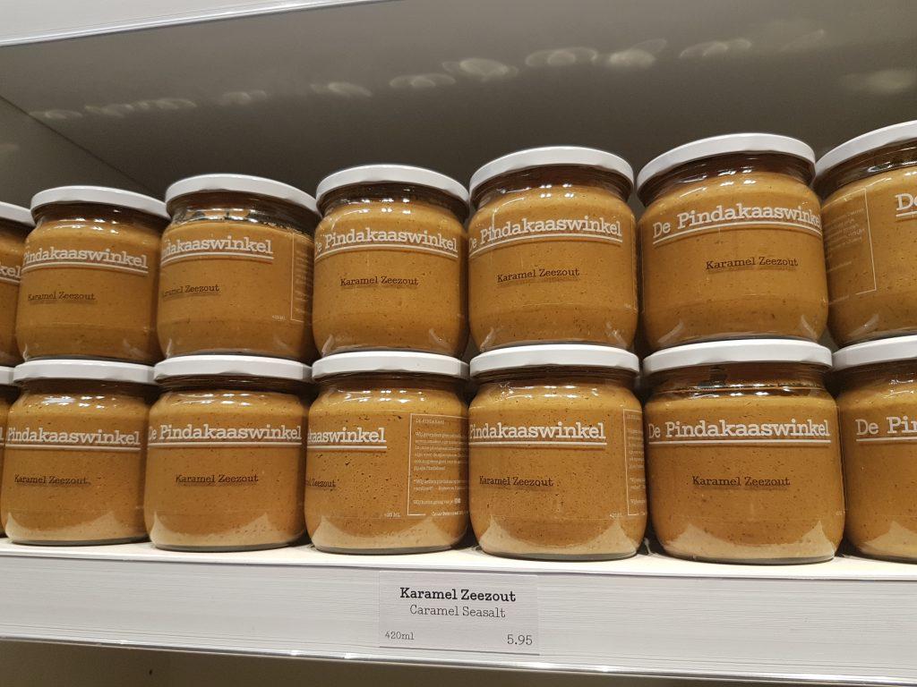 オランダのピーナッツバター屋さん