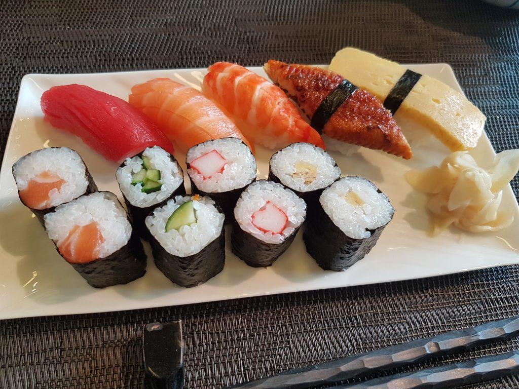 北海キッチンの握り寿司