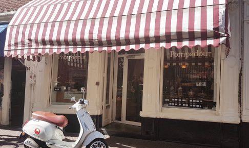 アムステルダムのチョコレート屋さん