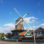 アムステルフェーンの風車レストラン デヨングディッカールトの外観