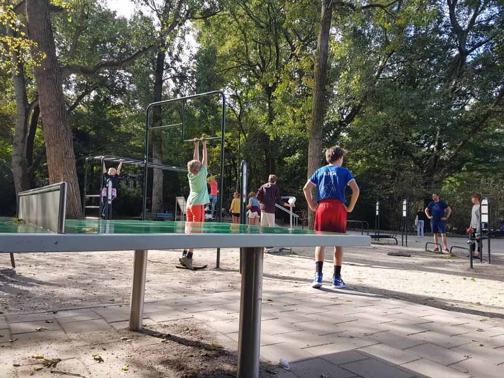 アムステルダムの公園