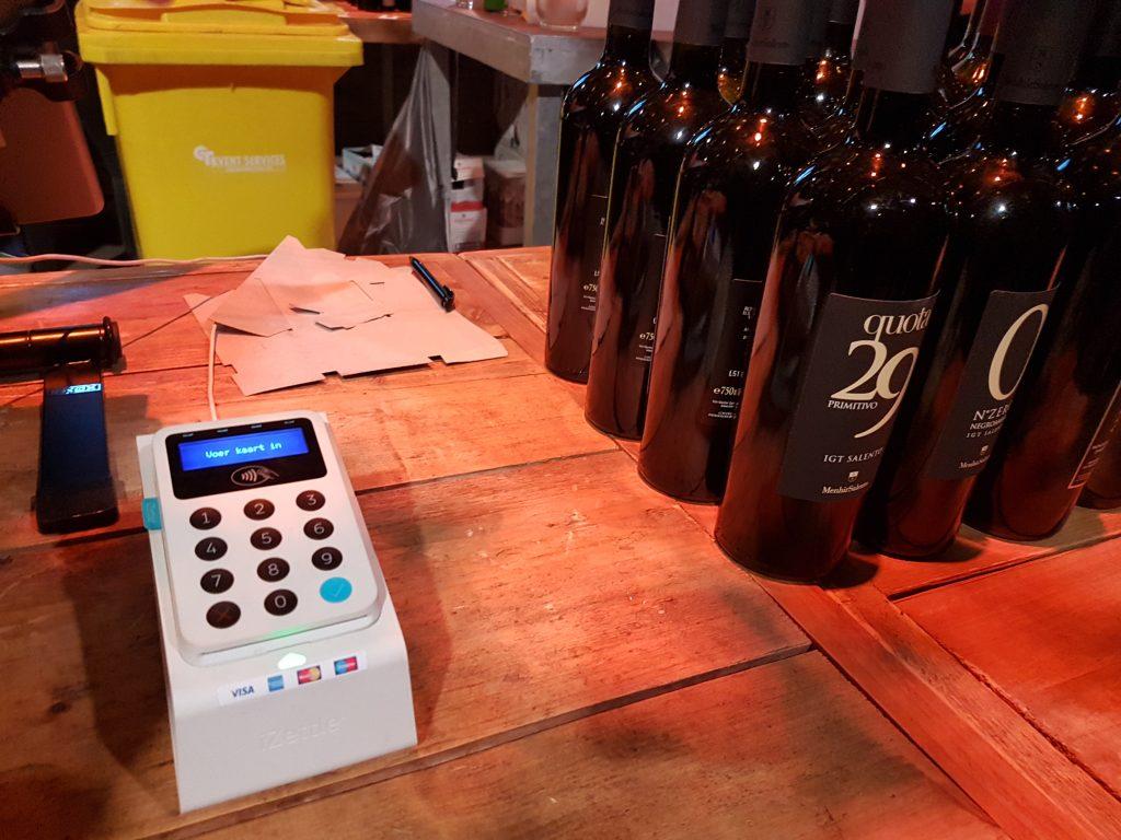 ワインフェスティバルアムステルダムのピンマシーン