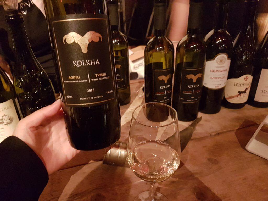ジョージアの白ワイン