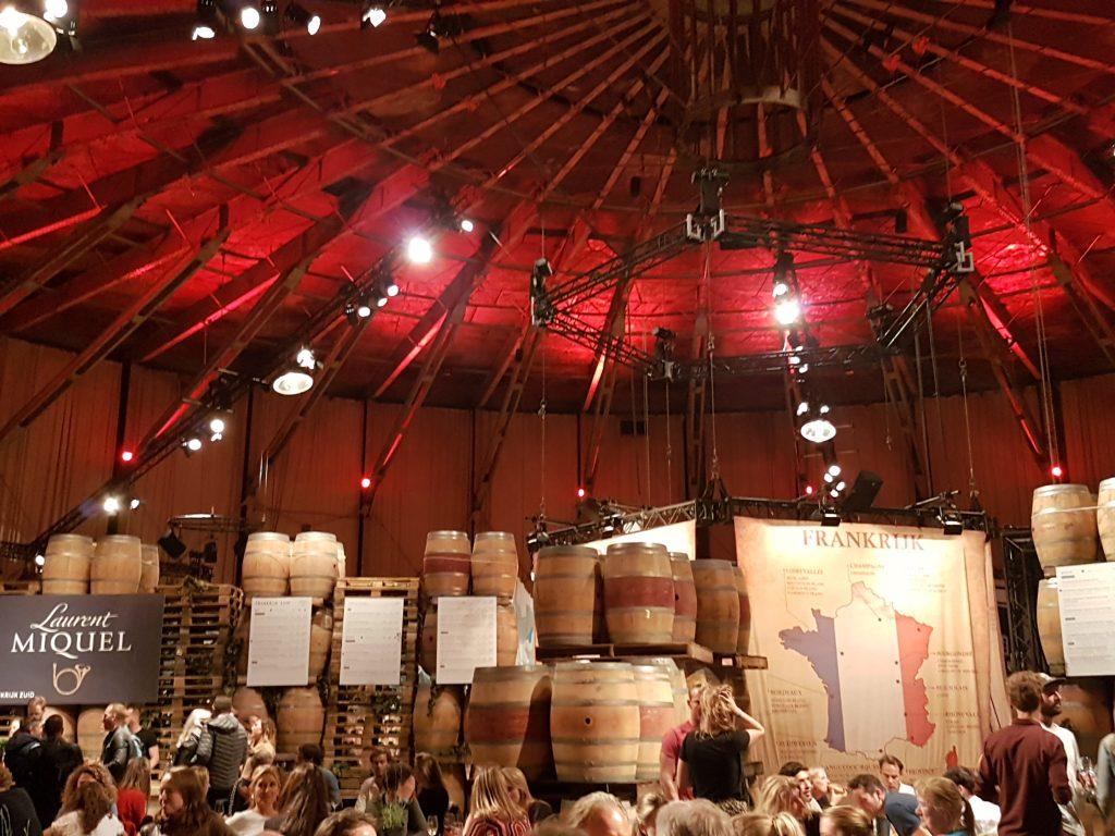 ワインフェスティバルアムステルダム