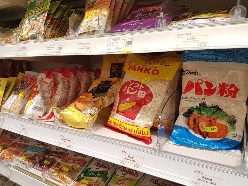 アムステルダムで日本食が買えるスーパーでパン粉