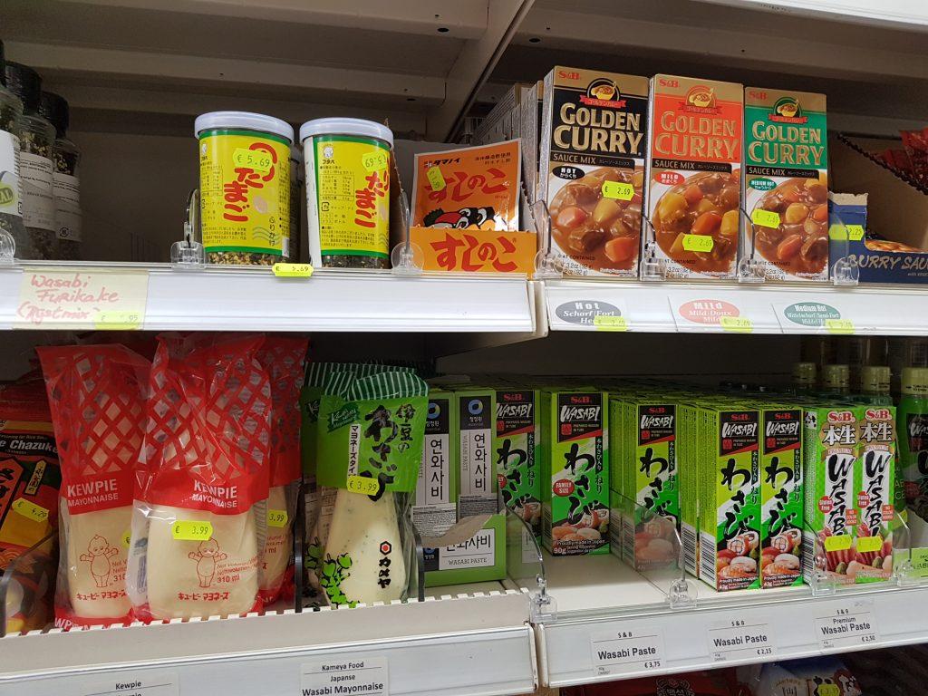 アムステルダムで日本食が買えるスーパーでマヨネーズ