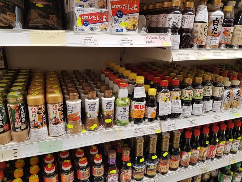 アムステルダムで日本食が買えるスーパーで醤油