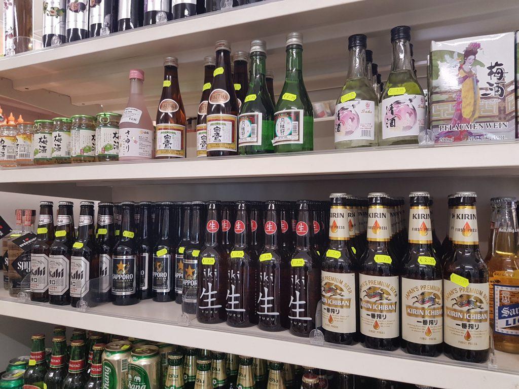 アムステルダムで日本食が買えるスーパーでビール