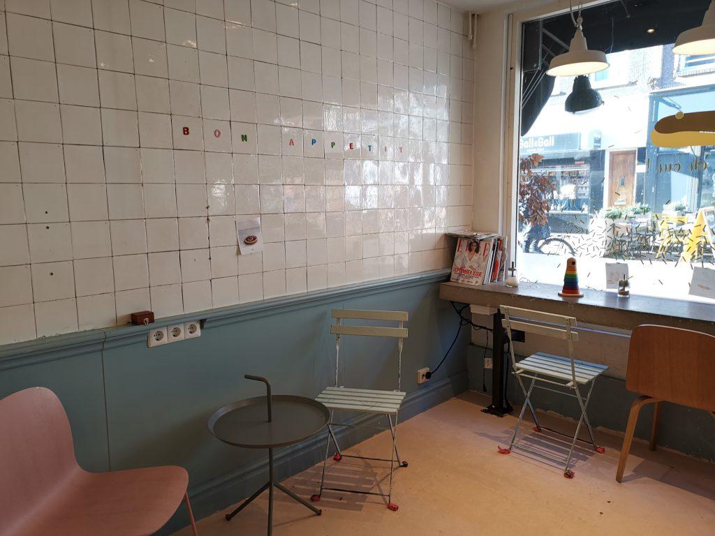 アムステルダム デパイプのケーキ屋さん