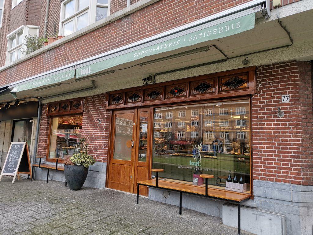 アムステルダムのケーキ屋さん
