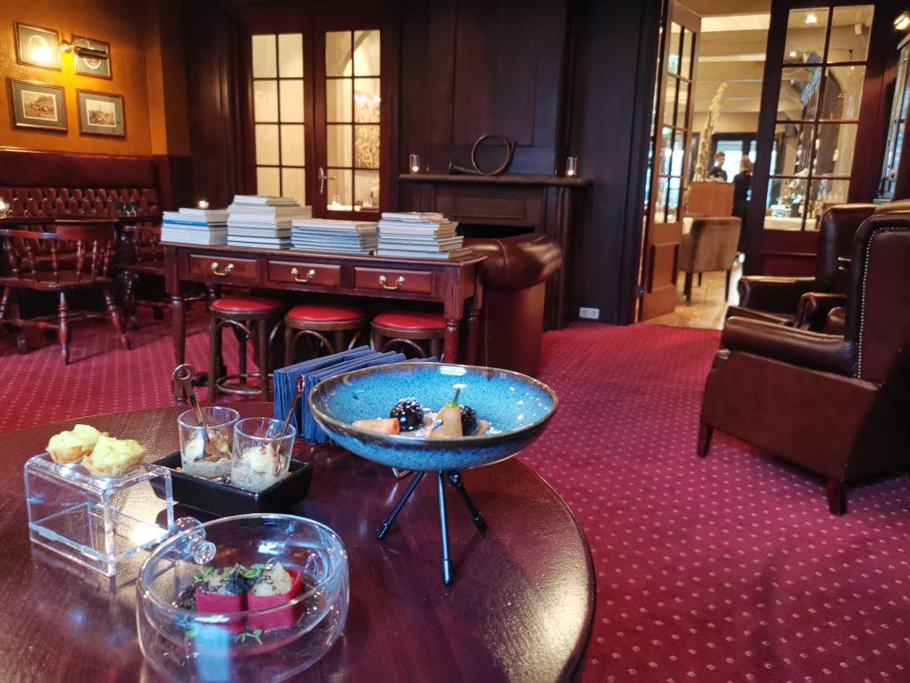 モニッケンダムのミシュランレストランのアミューズ