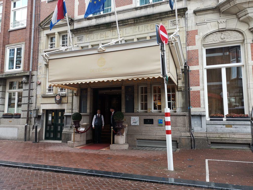 ホテルヨーロッパアムステルダムの外観
