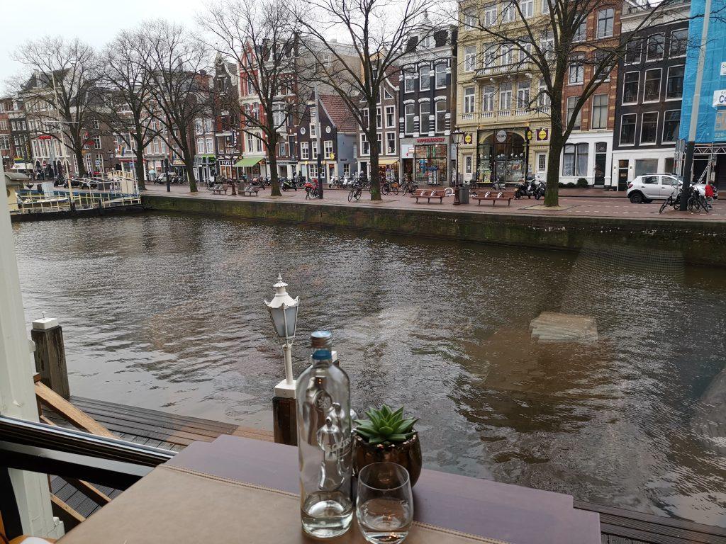 ホテルヨーロッパアムステルダムのブラッスリー