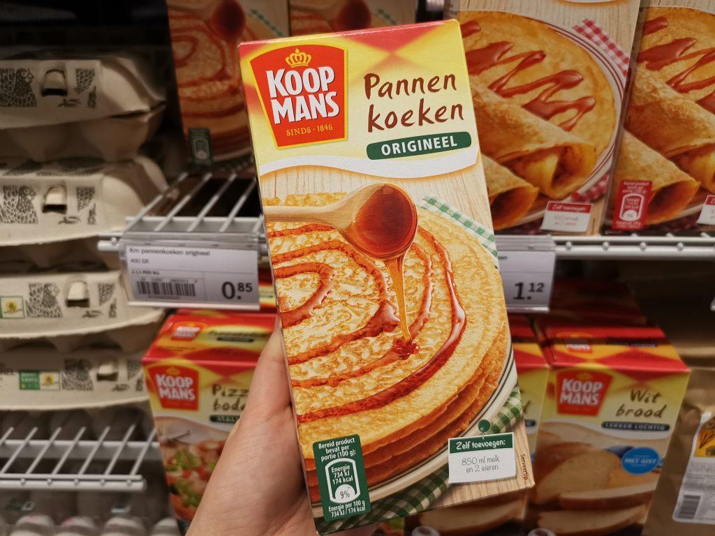 アムステルダムのスキポール空港でオランダ土産のパンケーキミックス