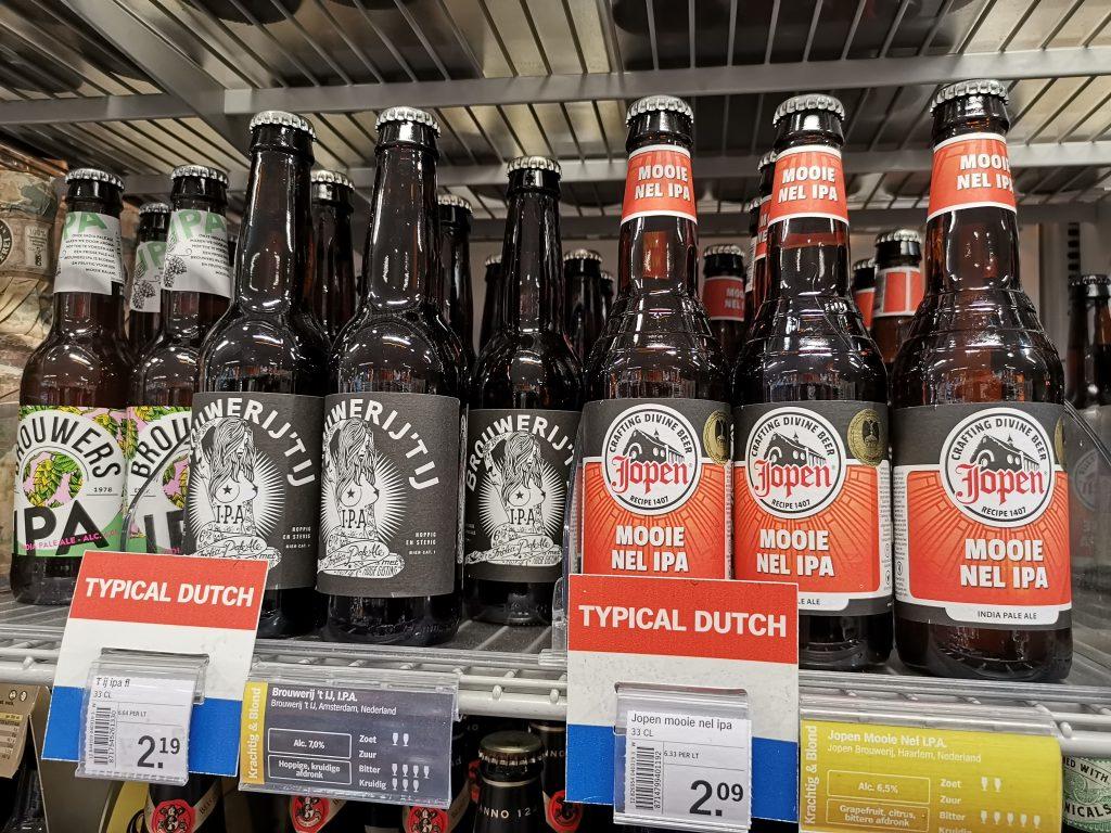 アムステルダムのスキポール空港でオランダ土産のビール