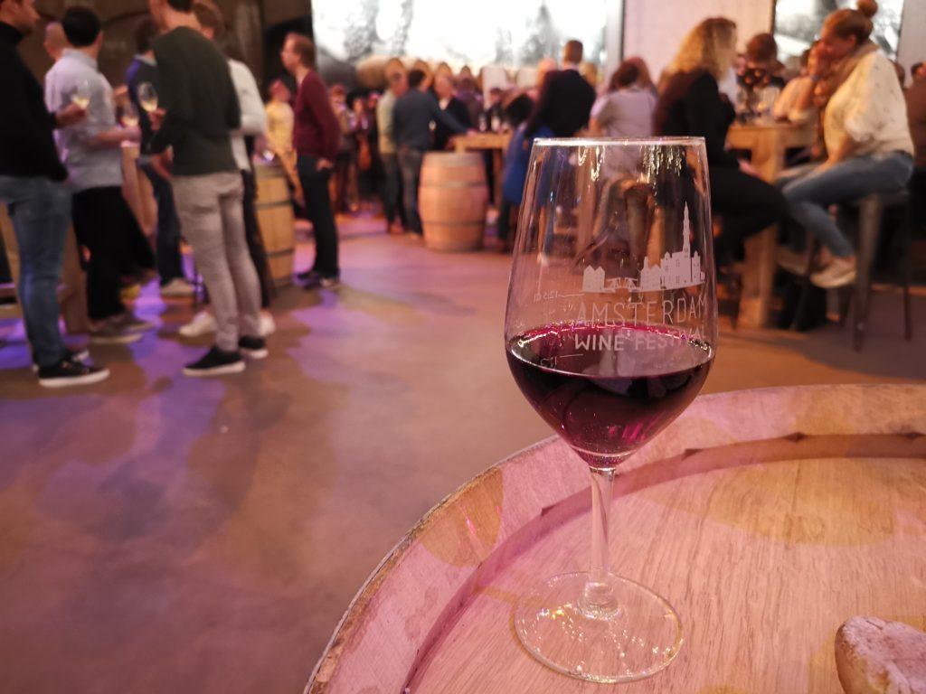 アムステルダムのワインフェスティバル
