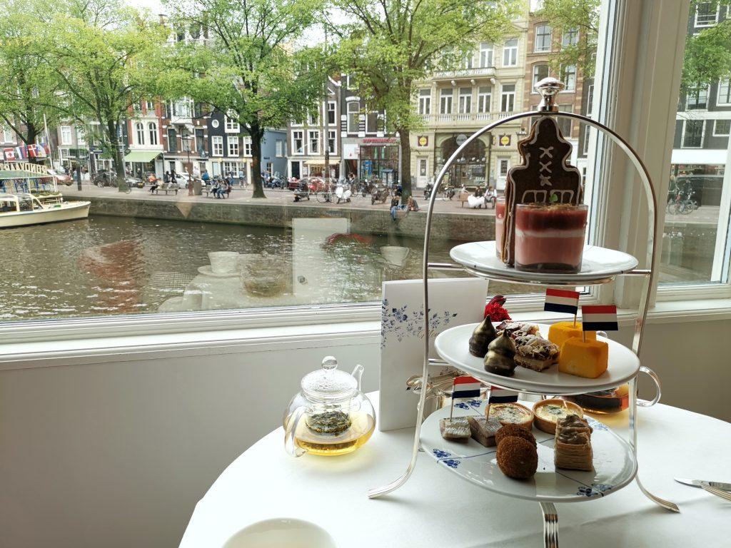 ホテルヨーロッパアムステルダムのアフタヌーンティ