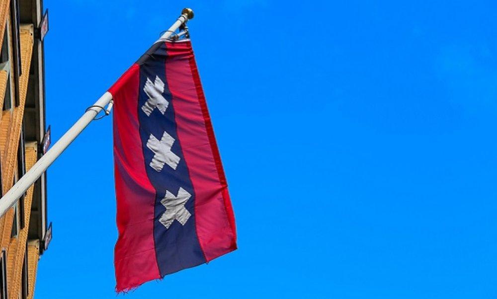 アムステルダムの市の旗