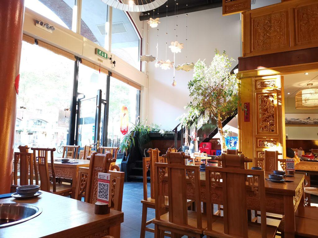 デン・ハーグの中華レストラン重慶火鍋
