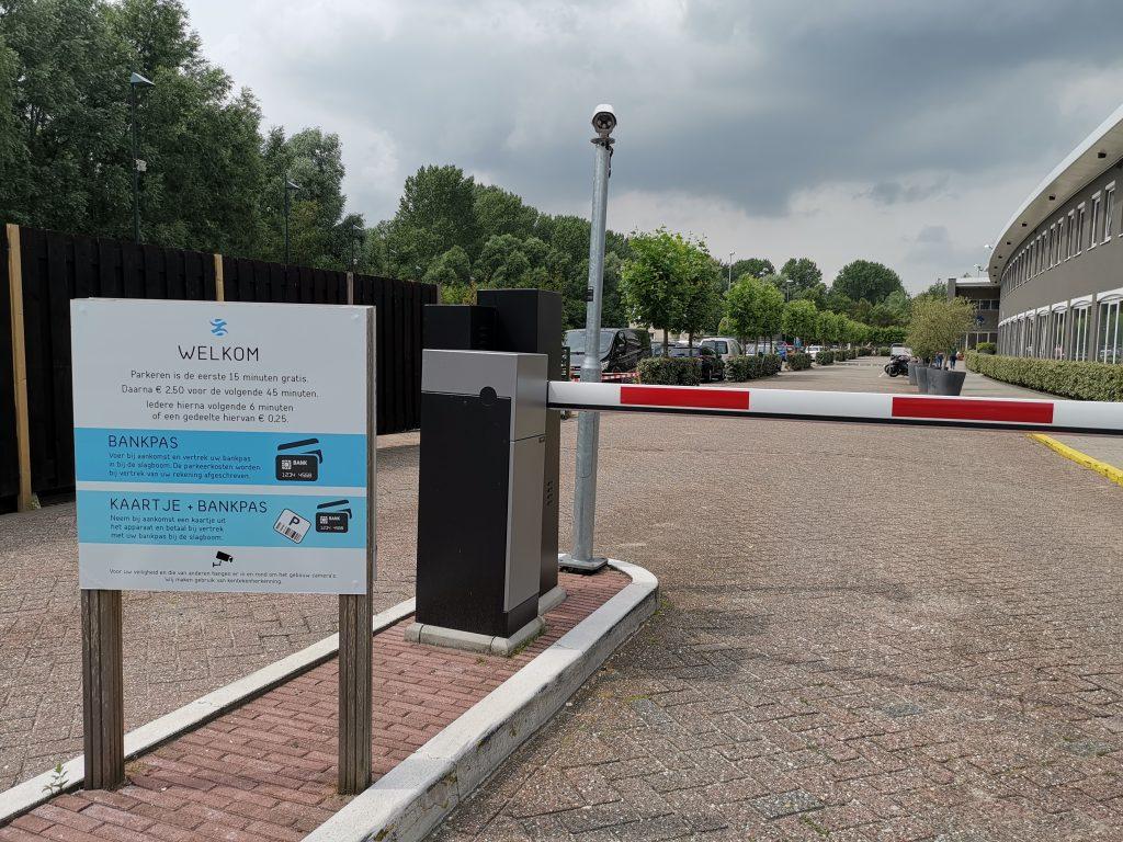 アムステルダムのスパZUIVER の駐車場