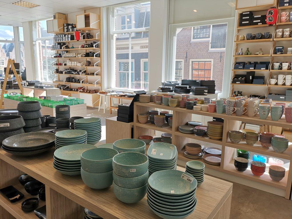 アムステルダムで和食器