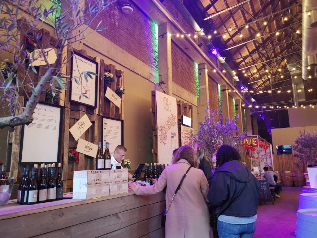 アムステルダムワインフェスティバルでフランスワイン