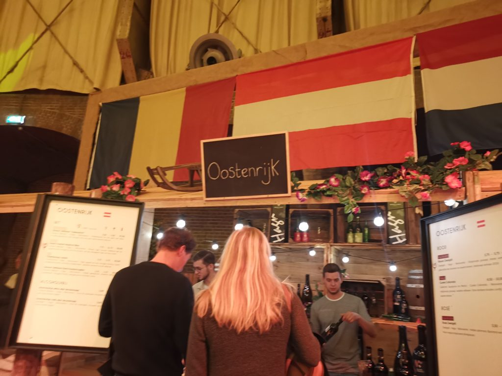 アムステルダムワインフェスティバルでオーストリアワイン