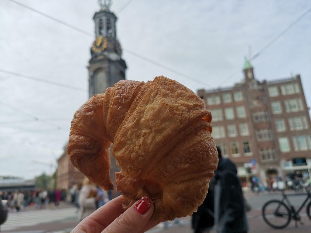 アムステルダムのクロワッサン