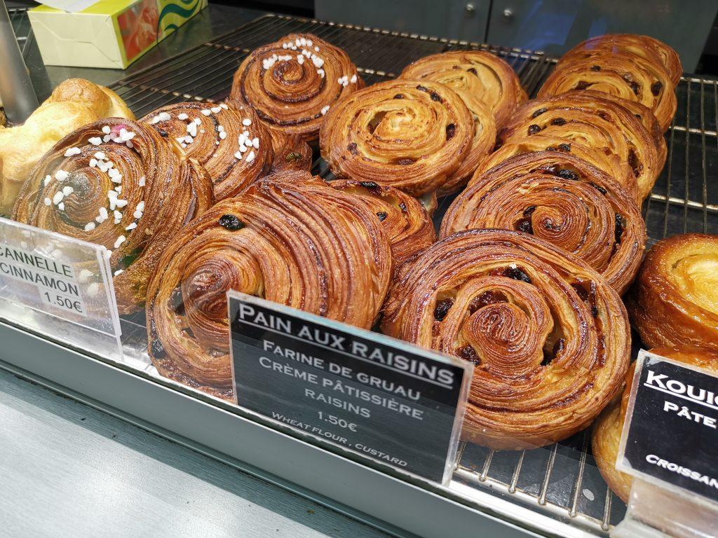 パリのNo,1クロワッサン屋さんのパンオレザン