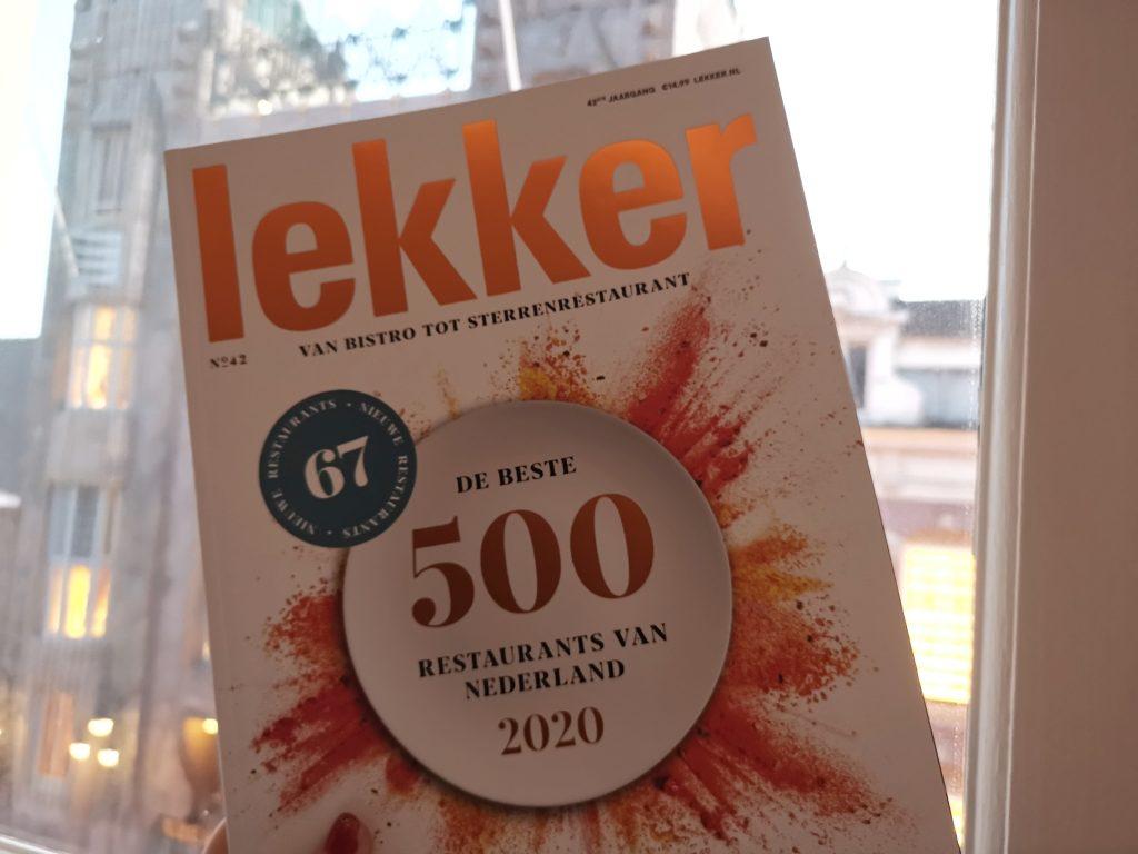 Lekker500オランダのミシュランガイド
