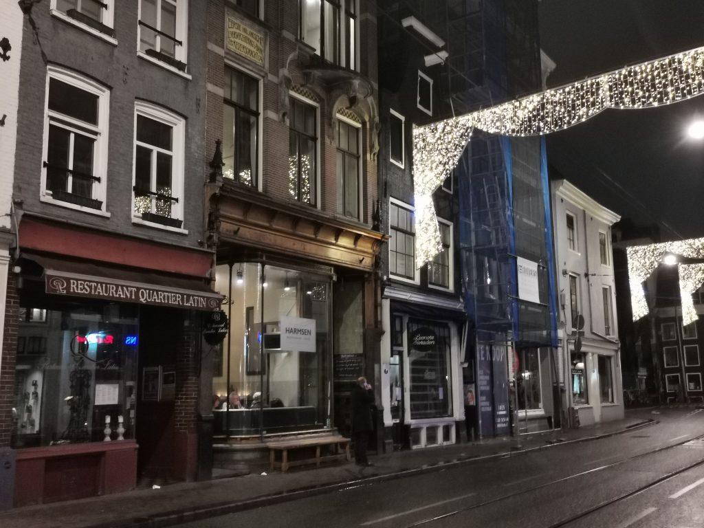 アムステルダムの地中海レストラン