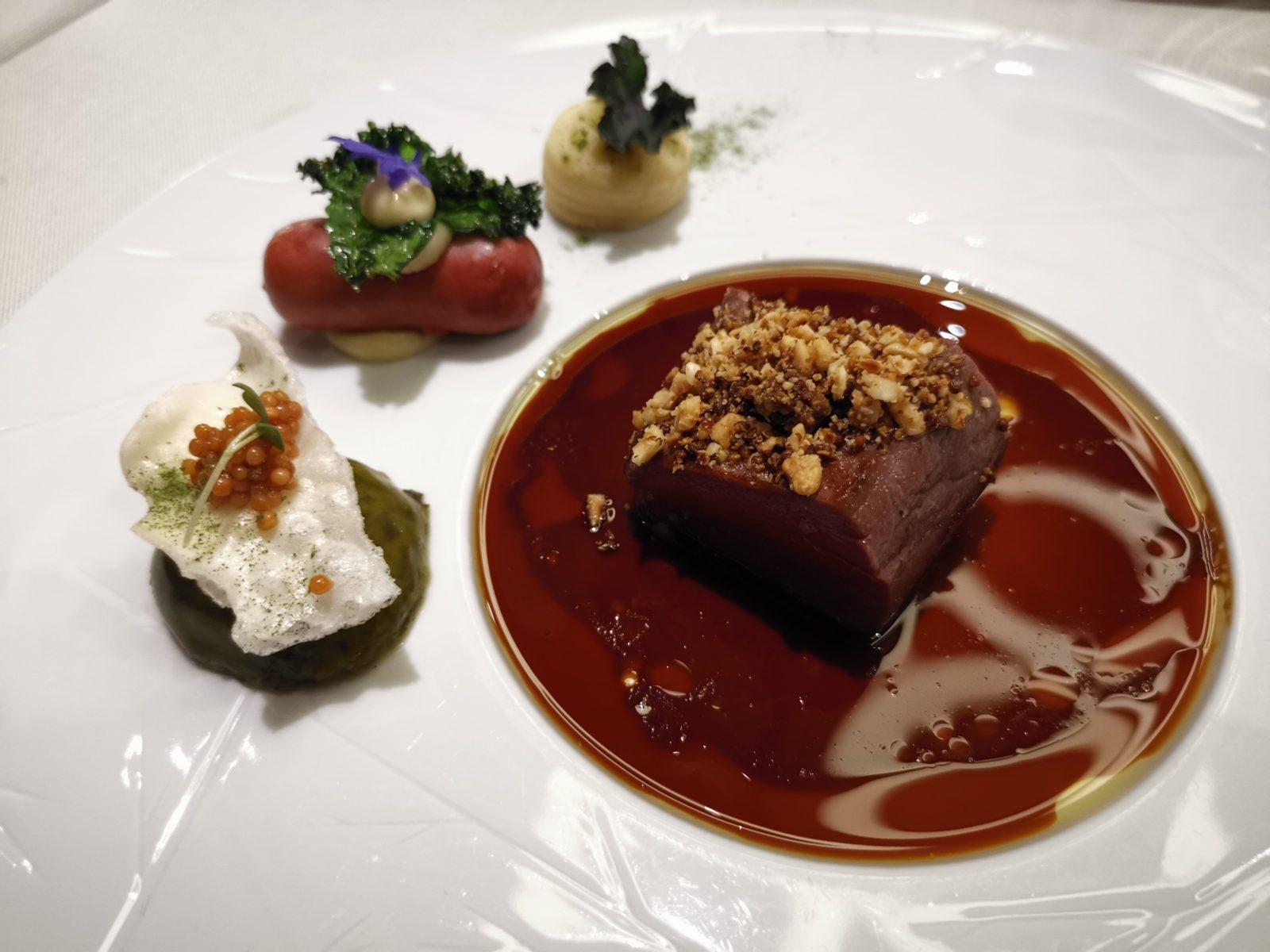 アムステルダムのミシュランプレートレストランSensesお肉