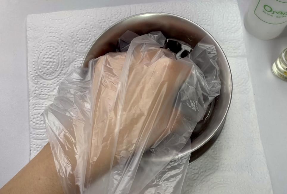 湯煎をする